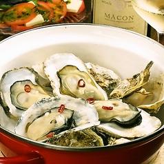 料理メニュー写真牡蠣の白ワイン蒸し(10P)