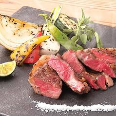 黒毛和牛のステーキ(120g)