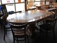 7人掛けテーブル席
