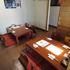 << 飲み会利用に >>6名様でお掛け頂けるお座敷のお席を2卓ご用意しております!ご友人、会社仲間とのご利用お待ちしております♪