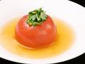 料理メニュー写真丸ごとトマトのおでん