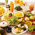 料理メニュー写真サラダ&デリカバー