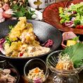 【栄宴会に最適!!】3時間飲み放題付き7品2999円!コース料理と合わせてお楽しみください。