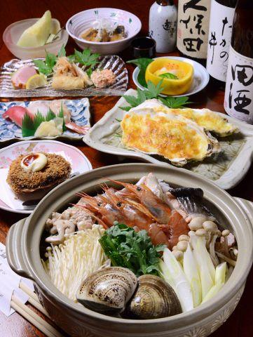 【冬季限定】3種から選べる旬の鍋コース[2時間飲み放題付き] 4000円