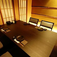 当店唯一のテーブル個室!接待にオススメ!
