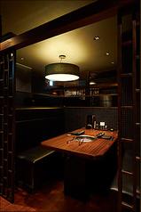 落ち着いた雰囲気のお席は大事な人とのお食事会などでご利用いただけます。