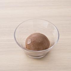 料理メニュー写真濃厚ベルギーチョコアイス