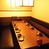 8名様掛けの個室テーブル席もご用意!少人数宴会にはとっておきなお席となっております。