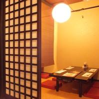 【2階フロア】個室完備!!