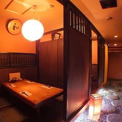 さまざまな趣の個室を。