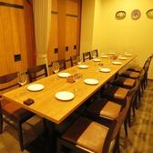 【6番、7番の個室を繋げて♪】12名様までの個室に♪イタリアの調理器具や伝統的な食器などが飾られた空間です。