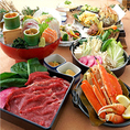 刺身盛り合わせが付いた各種飲み放題付きコース!旬の食材を使用したオススメのコースです!