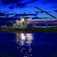 錦江湾の自社漁船からの直送鮮魚使用♪