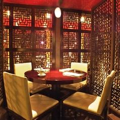 【オススメ円卓席】中華料理店ならではの円卓が嬉しい。他にはない雰囲気をお楽しみください。