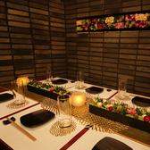 会食やお祝いなど、特別なシーンには装飾などのお手伝いも致します。ご希望の場合はご相談下さいませ。