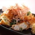 料理メニュー写真自家製豆腐の厚揚げ