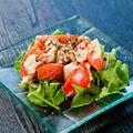 料理メニュー写真プチトマトとバルサミコソースのカプレーゼ