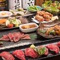 【豊富なコース料理】ご友人同士での飲み会や会社宴会にも使いやすい。飲み放題が全てのコースについております。是非ご利用下さい。