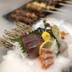 地魚 寿司 鶏料理 おどろきのおすすめ料理1