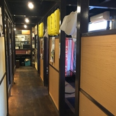 「わびさび」店内は全室個室仕様になっております。周りを気にせず食事を楽しめるので女子会やデート使いにぴったりです!