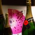 お酒各種も豊富に取り揃えております。焼酎、カクテル、ワインなど・・・・ドリンクも多彩。
