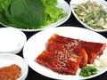 料理メニュー写真ホエー豚のコチュジャンサムギョプサル