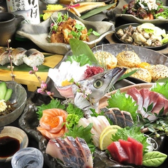 日本酒とお魚きっちん 祐星のコース写真
