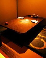小個室。いい感じの距離感がgood です!