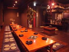 2~24名収容OKの掘りごたつ席★テーブルをつなげれば26名様OK!会社宴会にもおすすめ◎貸切は20名様~承ります!事前にお問合せ下さい。