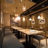 【テーブルベンチ席】木の温もり溢れるプライベート空間を御提供!会社宴会や女子会、会社帰りの飲み会、ちょっとした集まりにも◎