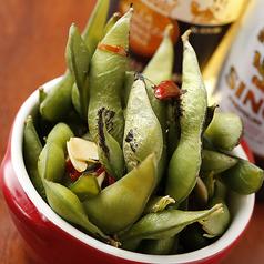 炙りぺペロン枝豆