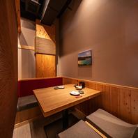例えばこちら2~12名様個室。金山駅すぐの和風空間