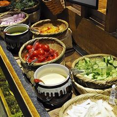 都野菜の「畑バー」で、もっと野菜が好きになる!