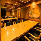 団体個室もあるので、忘新年会・宴会・貸切・二次会にも最適です。