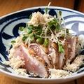 料理メニュー写真桜姫鶏の炙りとりわさ