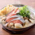 料理メニュー写真【北海道】◆石狩鍋 お鍋のシーズンメニュー始めました!