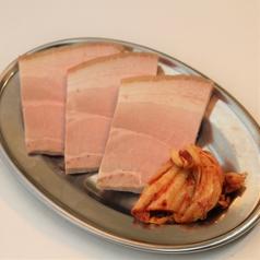 蒸し豚(3枚)