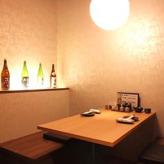 ゆったり寛げる2名様~4名様の完全個室完備しております。浜松駅徒歩1分の当店で仕事終わりなどにお立ち寄りください。