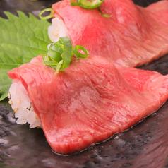 伊賀牛の大トロ炙り肉寿司