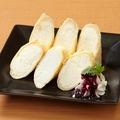 料理メニュー写真チーズクレープ