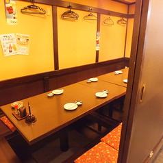 4~8名様プライベート感たっぷりの完全個室