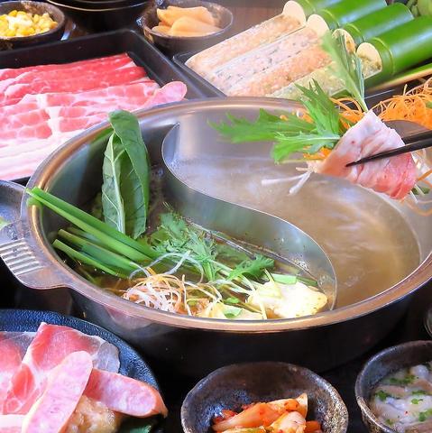 定番【ディナー50種類食べ放題】天晴豚&マテ茶鶏食べ放題1999円(税込価格2198円)
