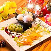 お誕生日や記念日にはメッセージプレートもご用意できますので、お気軽にご相談ください♪千葉駅での記念日、誕生日のお祝いを当店の癒し空間で!