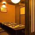 接待・女子会・と幅広くご利用頂ける個室。