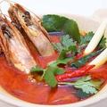 料理メニュー写真トム ヤム クン(海老のスパイシーサワースープ)