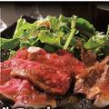 料理メニュー写真牛ランプのステーキ