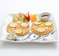 サツマイモのパンケーキ(680円)