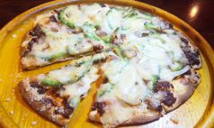 豆腐ようのピザ/ゴーヤーのピザ