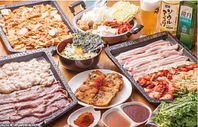 人気の韓国料理がリーズナブルに、食べ放題&飲み放題☆