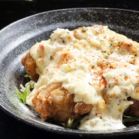 県産鶏を使用した絶品鶏料理☆